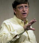 Bill Gates - założyciel Microsoftu i jeden z najbogatszych ludzi świata