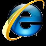 Logo Internet Explorer (od wersji 7)