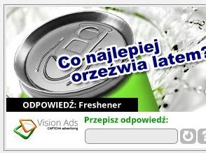 Przykład reklamy PPTV lub Pay per type view (źródło: visionads.pl)