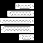 Schemat złączy D-Sub