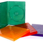 Opakowanie na płyty typu DVD case