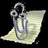 Spinacz z pakietu Microsoft Office